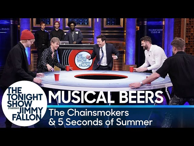 Musical Beers with The Chainsmokers and 5 Seconds of Summer