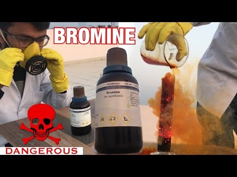 Bromine - One Of The Most Dangerous Element | Bromine And Aluminium