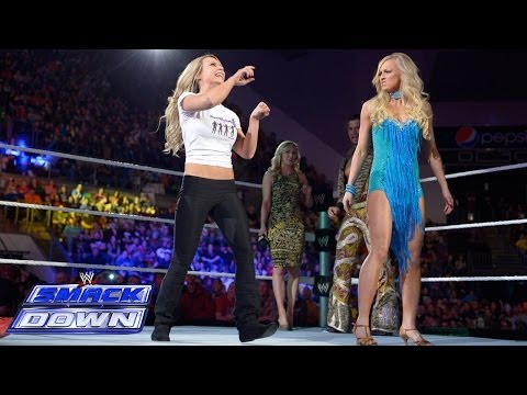 Emma vs. Summer Rae - SmackDown Dance-Off: SmackDown, Feb. 21, 2014