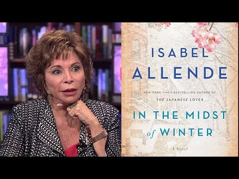 """""""In The Midst Of Winter"""": Novelist Isabel Allende's New Book Explores Falling In Love Late In Life"""
