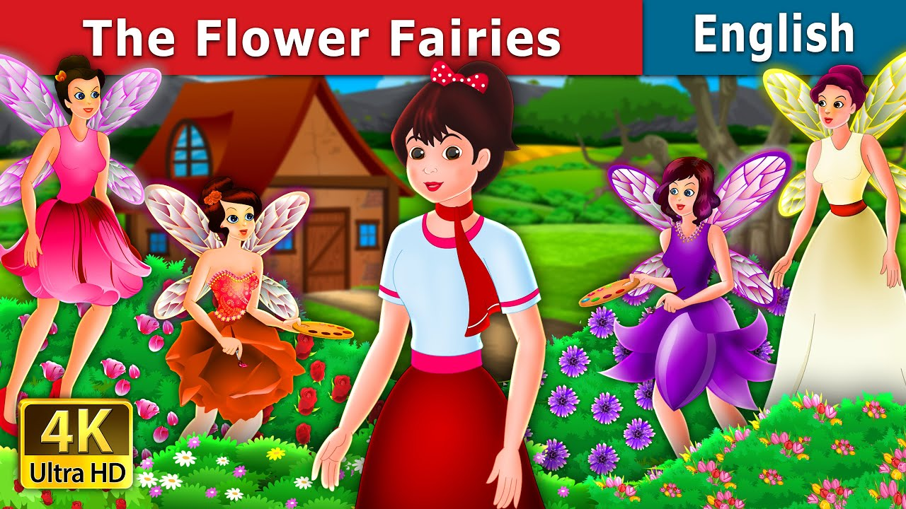 The Flower Fairies Story in English | Stories for Teenagers | English Fairy Tales