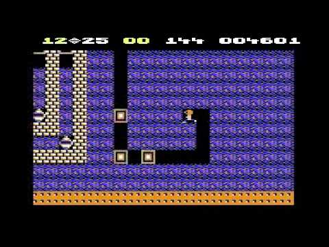 Boulder Dash (C64) - Longplay