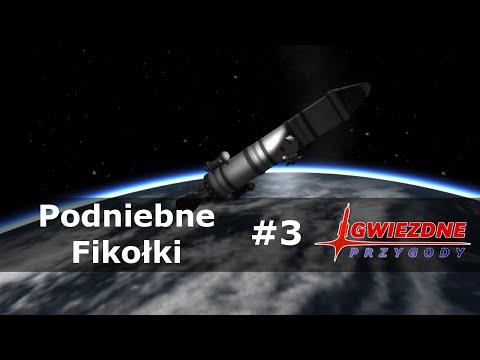 Kerbal Space Program #174 - Gwiezdne Przygody II #3: Podniebne fikołki (0.25)