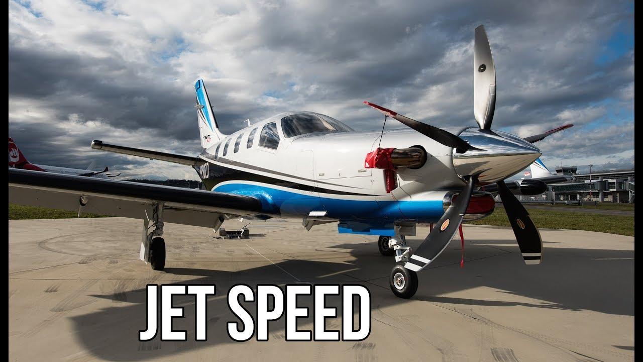 fastest single prop passenger plane)