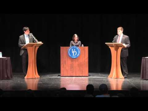 University of Delaware College Republicans vs College Democrats Debate