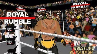 Rey Mysterio makes a shocking return in the Royal Rumble Match: Royal Rumble 2018 (WR3D)