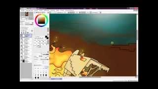 Рисуем лошадь скелет Minecraft #3