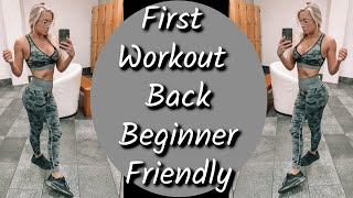 Download Lagu HOW TO GET BACK INTO SHAPE AFTER NO EXERCISE: post quarantine gym day mp3