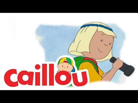 Caillou - Surprise Party  (S02E15) | Cartoon for Kids