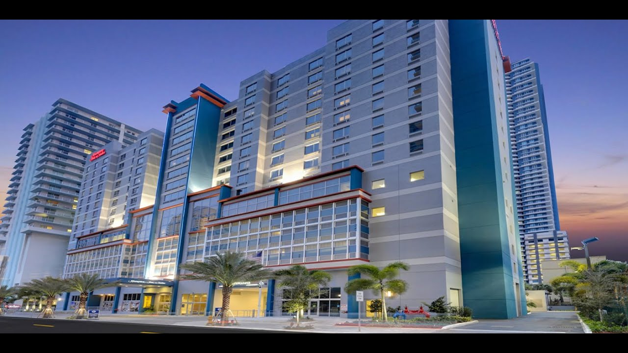 Hampton Inn Amp Suites By Hilton Miami Downtown Brickell Miami Hotels Florida Youtube