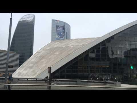 La Défense is a major business district of the Paris Metropolitan Area