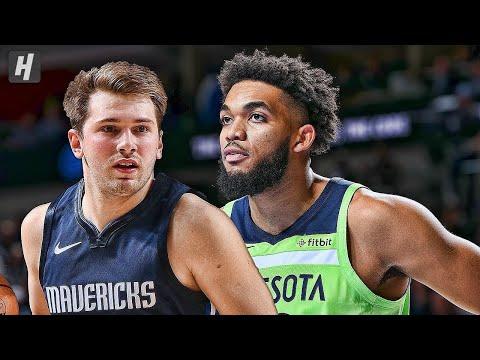 Minnesota Timberwolves Vs Dallas Mavericks LIVE