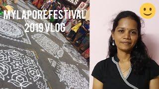 Mylapore Festival Vlog | MylaporeFest 2019 |