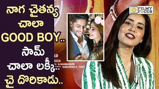 Raashi Khanna about Naga Chaitanya, Venkatesh and Venky Mama Movie