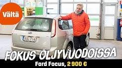 Käytetty: Ford Focus 1.6 TDCi 90 Trend (2 900 €) - Fokus öljyvuodoissa