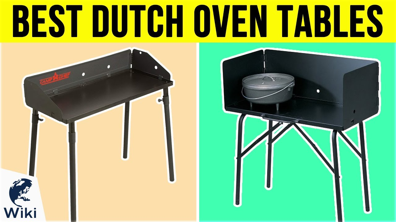 8 Best Dutch Oven Tables 2019