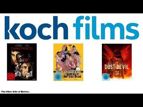 Koch Films Update I Dämonisch I One Cut Of The Dead I Dust Devil I Limited Mediabook Edition I Limit