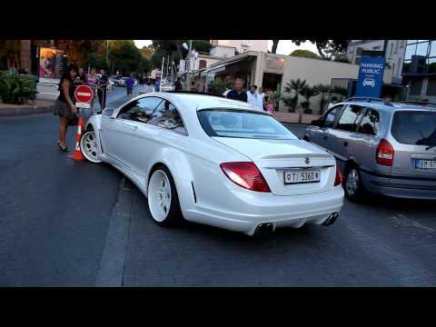 RARE! Mercedes CL FAB DESIGN start up+acceleration!! HD