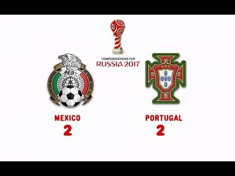 MEXICO 2 PORTUGAL 2 HECTOR MORENO CHICHARITO HERNANDEZ