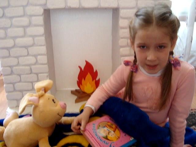 Изображение предпросмотра прочтения – СофияГордиенко читает произведение «Бабушкины сказки» С.А.Есенина