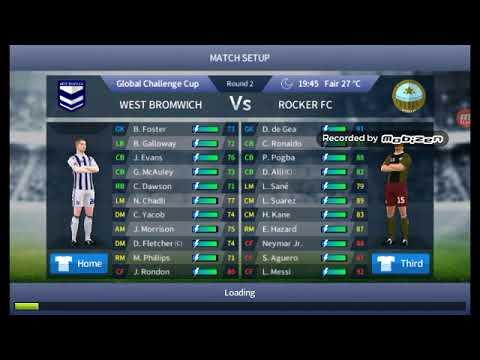 Dream League Soccer Rocker fc vs West Bromwich 10-0 dls17
