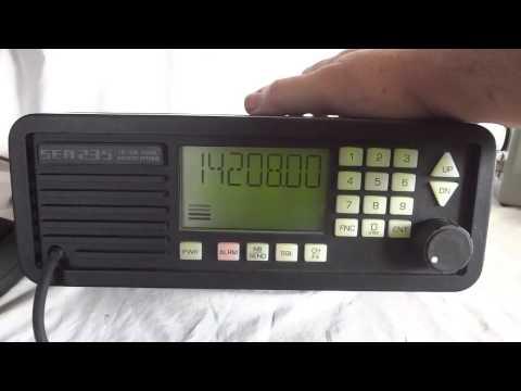 SEA-235 digital HF Single Side band marine radio