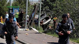 Один погибший и один раненый в результате наезда палестинца на израильтян
