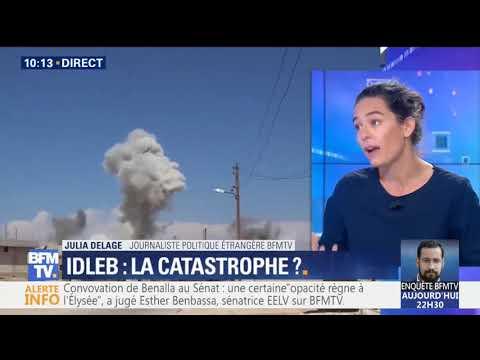 Idleb, Syrie, Interview de Frédéric Joli, porte parole du CICR