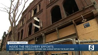 Inside the recovery efforts to rebuild historic Second Avenue within blast zone