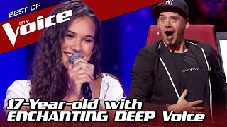 Teenager with INCREDIBLY DEEP voice WINS The Voice