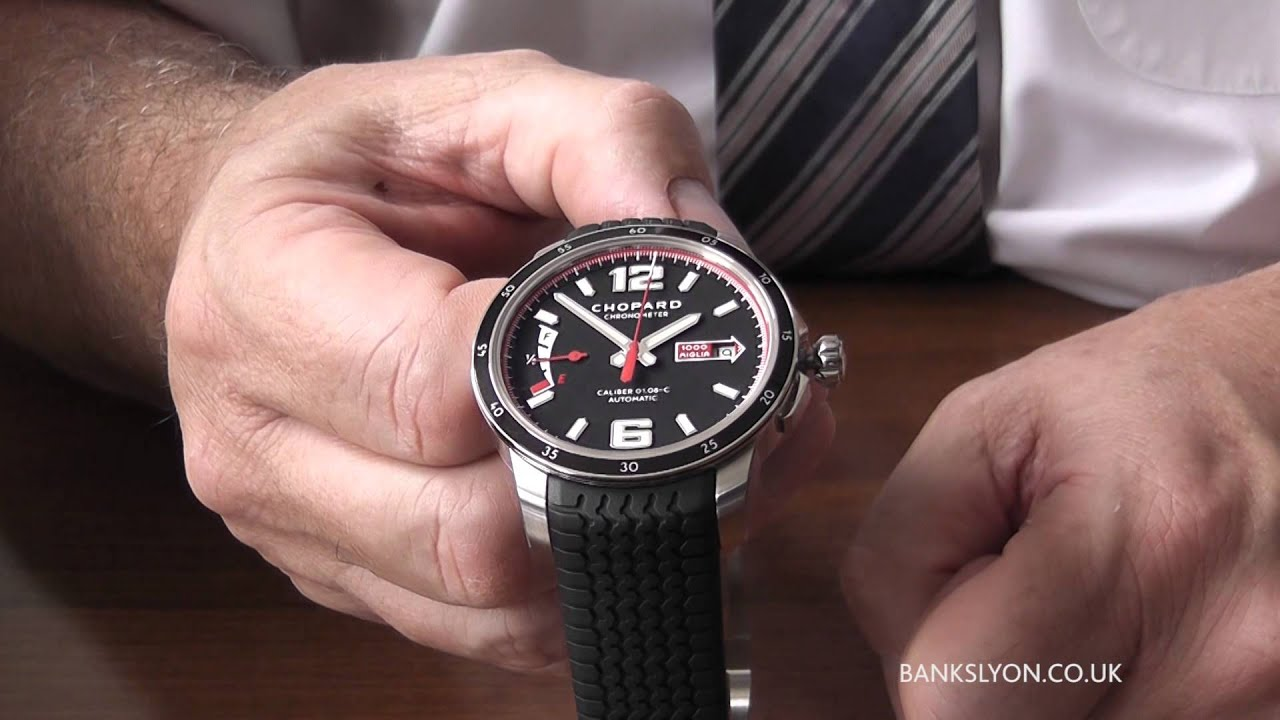 Chopard Mille Miglia Chronograph 16/8920 Luxury Watch Review - YouTube