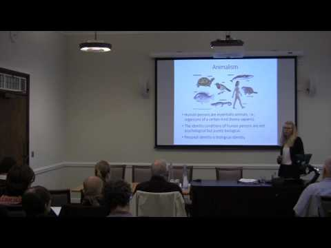 Biological Identity Conference - Anne Sophie Meincke