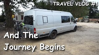 And The Journey Begins - Travel Vlog #1