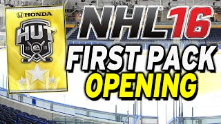 NHL 16 - First Pack Opening!!