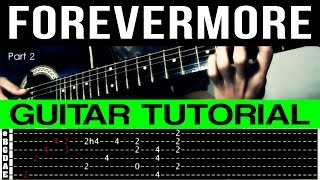 Forevermore Side A Rhythm Guitar Tutorial Complete (WITH TAB)