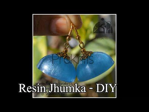 Resin Jhumka - DIY