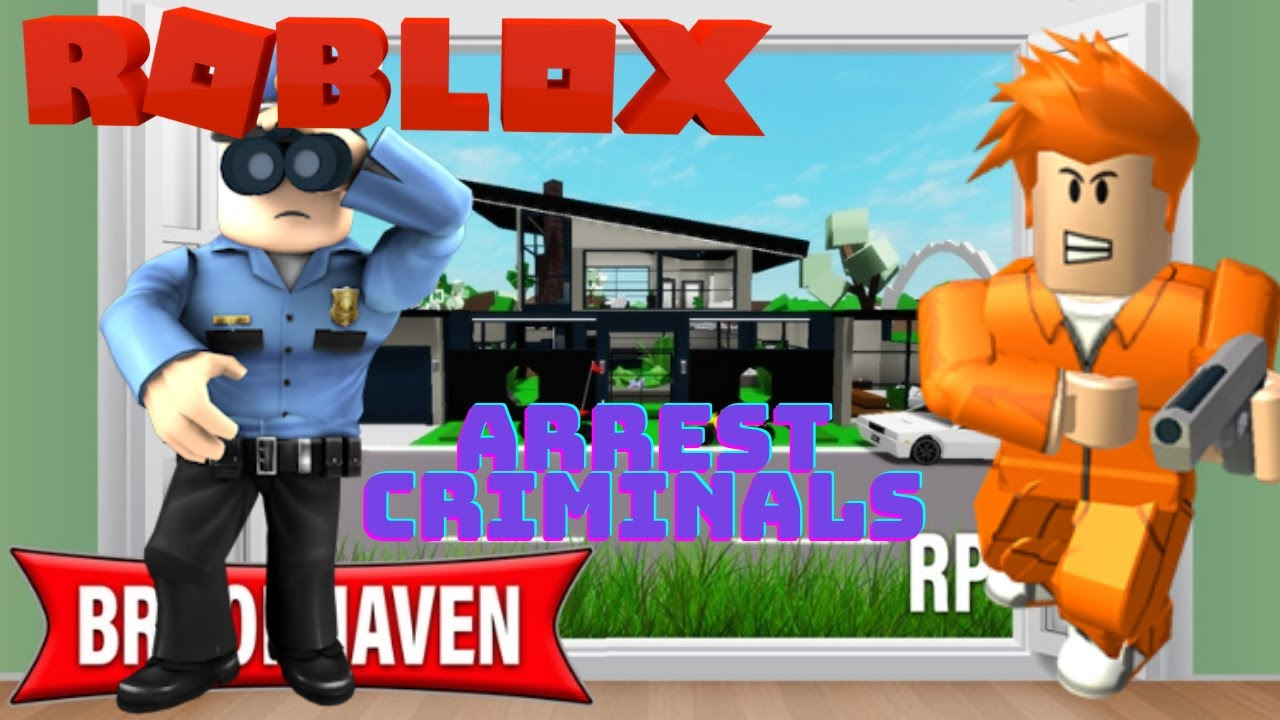 ROBLOX BROOKHAVEN POLICE OFFICER BROOKHAVEN CRIMINAL ROBLOX