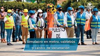 Este domingo 19 de septiembre se llevará a cabo el Segundo Simulacro Nacional 2021 en el que en punto de las 11:30 am sonarán las alertas sísmicas