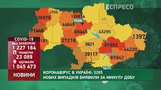 Коронавірус в Украі ні статистика за 3 лютого