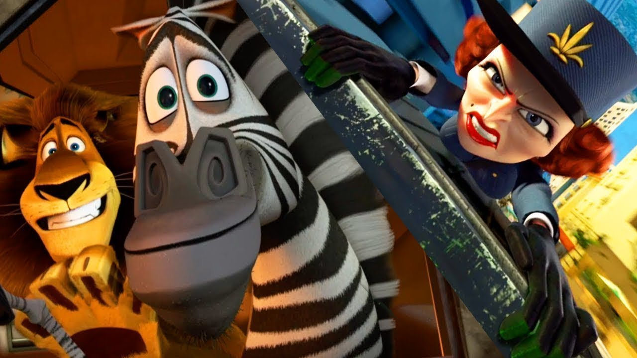 DreamWorks Madagascar | Car Chase - Movie Clip | Madagascar 3: Europe's  Most Wanted | Kids Movies