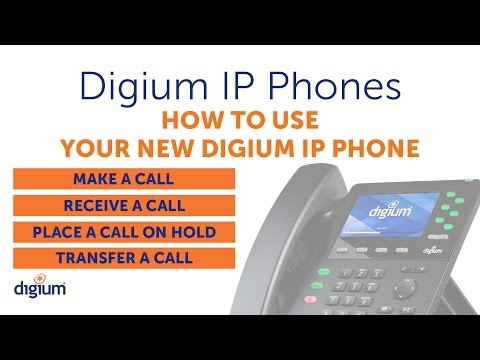 Digium IP Phones Training | 02 How to Use Your New Digium IP Phone | D6X series