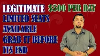 How I Earn $500 a day Really | You can also make money from home