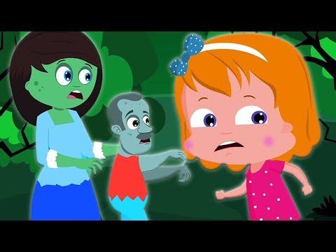 Город зомби   Хэллоуин   in English   Zombie Town   Umi Uzi Russia   русский мультфильмы для детей