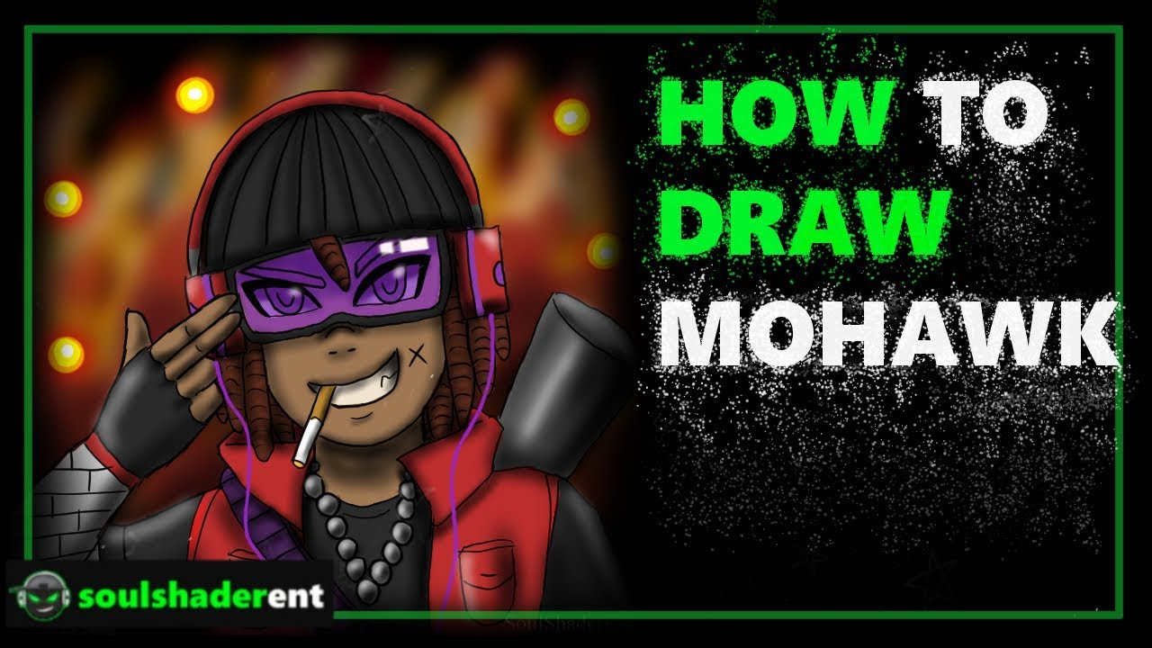 ❇️How To Draw Mohawk
