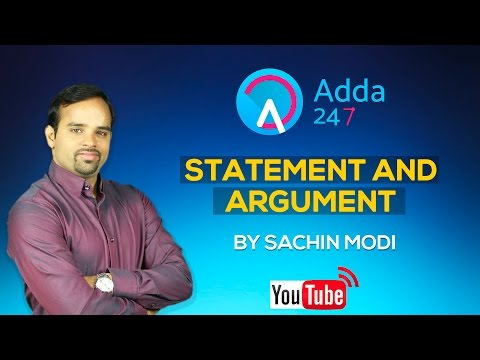 Rules For Statement and Argument by Sachin Modi