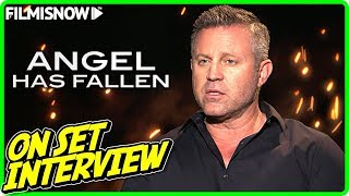 "ANGEL HAS FALLEN | Ric Roman Waugh ""Director"" On-set Interview"