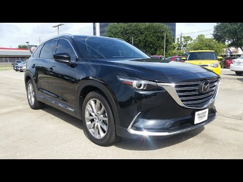 2016 Mazda CX-9 Signature AWD Start Up/ Full Review