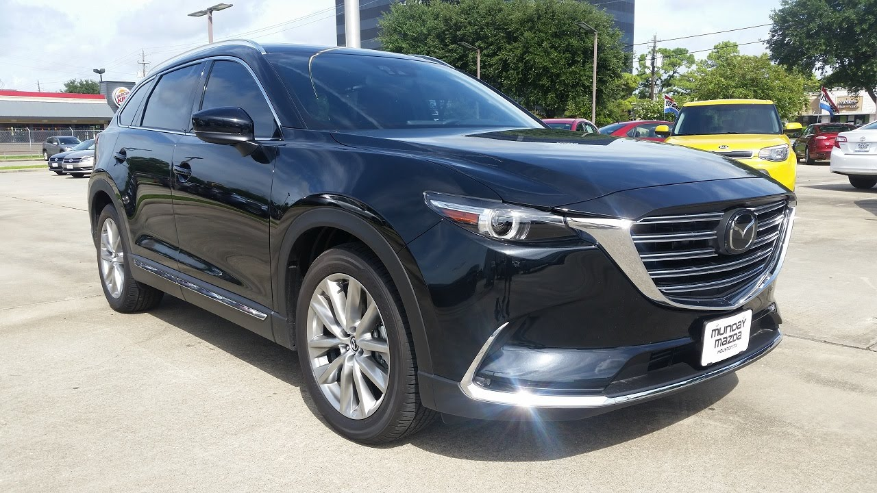 2016 mazda cx 9 signature awd start up full review youtube. Black Bedroom Furniture Sets. Home Design Ideas