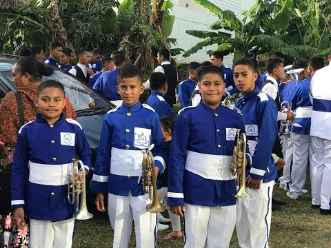 Entertainment Night - Tonga Secondary Schools Brass Band Festival - Music for Peace