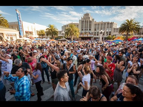 Salsa Festival at Redwood City, California